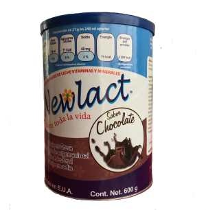 bote leche newlact chocolate