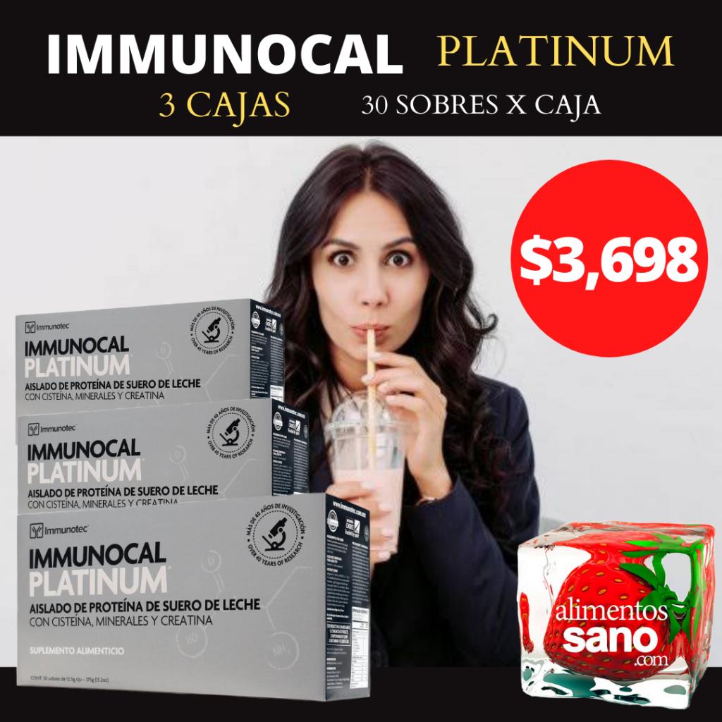 distribuidor immunocal platinum