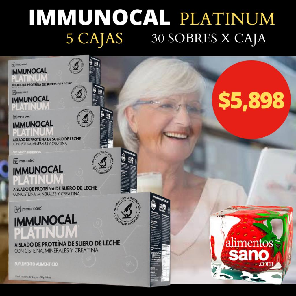 immunocal platinum paquete