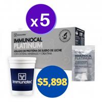 immunocal platinum paquete de exito